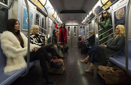 Кадр из фильма «8 подруг Оушена».