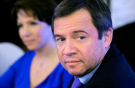 Валентин Юмашев и Татьяна Дьяченко.