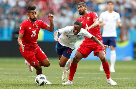 Во время матча группового этапа чемпионата мира по футболу - 2018 между сборными командами Англии и Панамы.