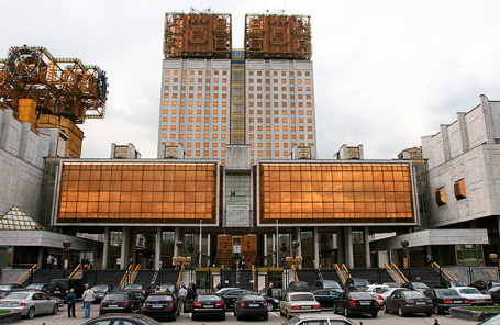 Здание Российской академии наук (РАН) на Ленинском проспекте.