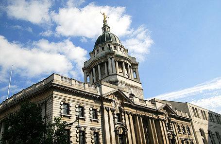 Центральный уголовный суд Лондона Олд-Бейли.