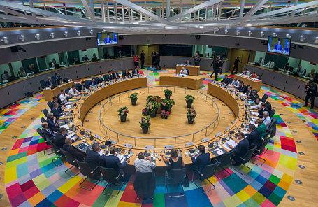 Лидеры ЕС принимают участие в саммите Европейского союза в Брюсселе.