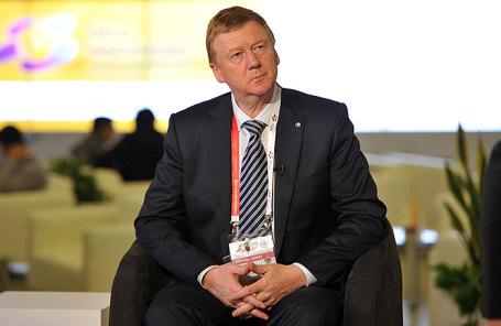 Председатель правления ООО «РОСНАНО» Анатолий Чубайс.