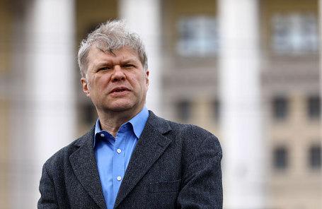 Председатель московского отделения партии «Яблоко» Сергей Митрохин.