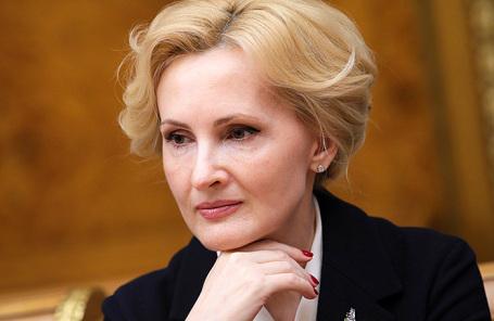 Вице-спикер Госдумы РФ Ирина Яровая.