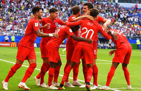 Сборная Великобритании по футболу.