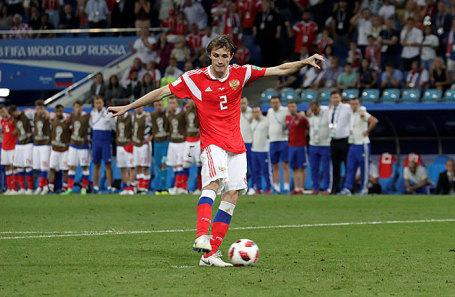 Защитник сборной России Марио Фернандес.