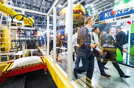 На международной промышленной выставке «Иннопром».