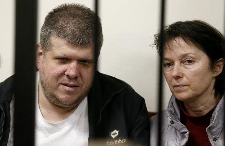 Лидер псевдоправославной секты Андрей Попов, обвиняемый в мошенничестве и создании некоммерческой организации, посягающей на личность и права граждан.