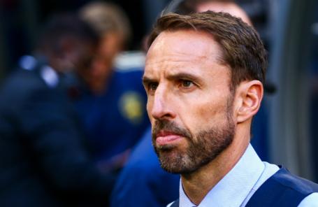Главный тренер сборной Англии по футболу Гарет Саутгейт.