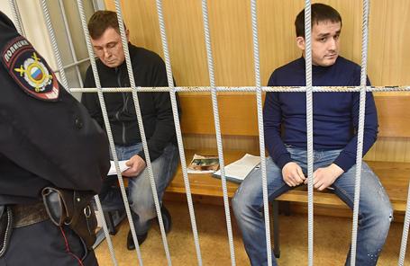 Владимир Калмыков и Иштимир Худжамов.