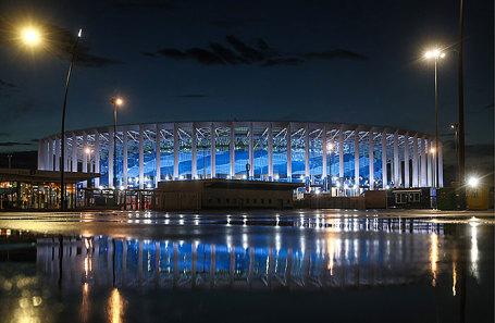 Стадион в Нижнем Новгороде.