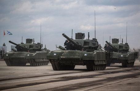 Танки Т-14 «Армата».