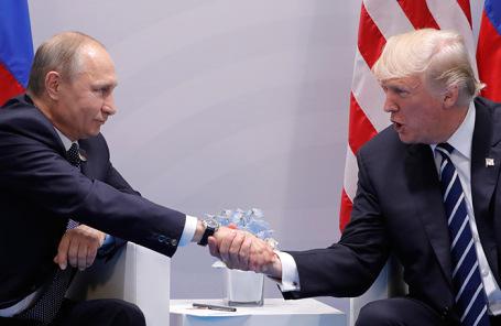 Владимир Путин и Дональд Трамп. Архив