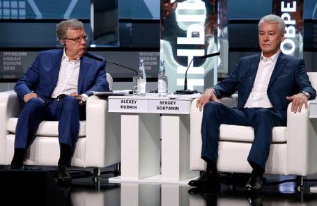 Алексей Кудрин и Сергей Собянин.