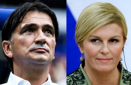Златко Далич и Колинда Грабар-Китарович.