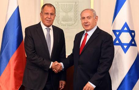 Сергей Лавров и Биньямин Нетаньяху.