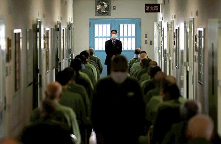 Спецблок для пожилых заключенных в тюрьме Токушима. Япония.