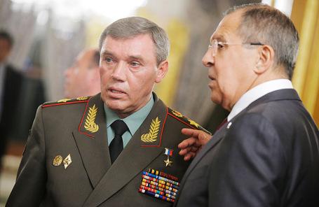 Валерий Герасимов и Сергей Лавров.