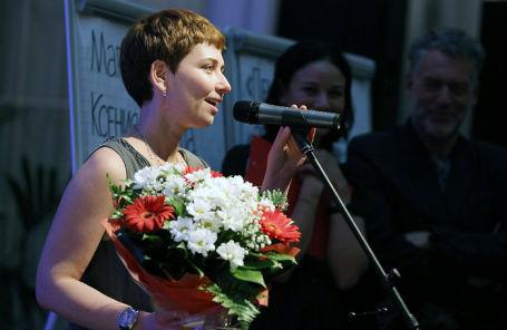 Писатель Анна Старобинец.