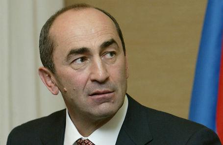 Бывший президент Армении Роберт Кочарян.