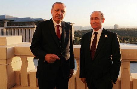 Эрдоган анонсировал саммит поСирии сучастием Российской Федерации