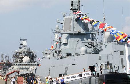 Фрегат «Адмирал Горшков» зачислили вбоевой состав ВМФ