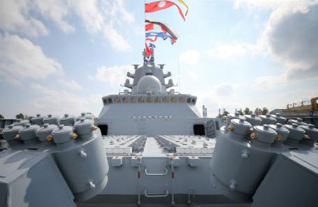 Головной фрегат «Адмирал Горшков».