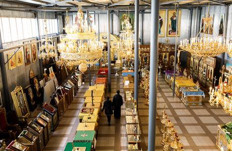 Церковная утварь на фабрике «Софрино»