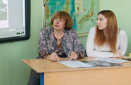 Светлана Колядова (слева).