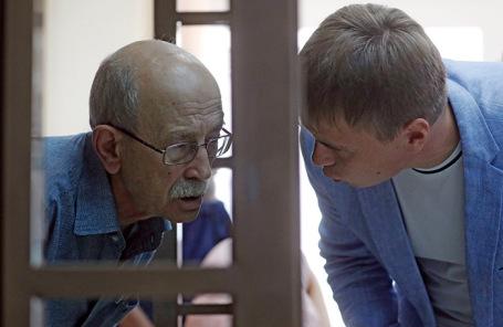 Виктор Кудрявцев (слева).