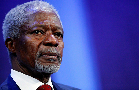 Кофи Аннан.
