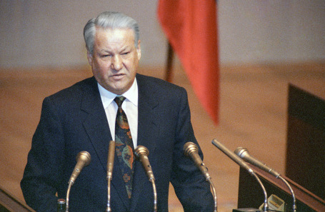 Борис Ельцин. 1991 год.