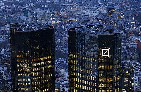 Здание Deutsche Bank во Франкфурте, Германия.