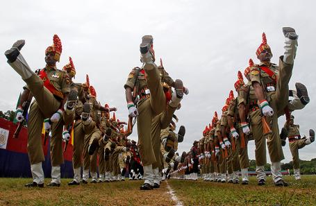 Индийские военнослужащие.