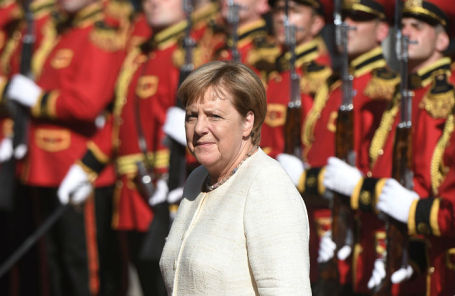 Ангела Меркель в Тбилиси.