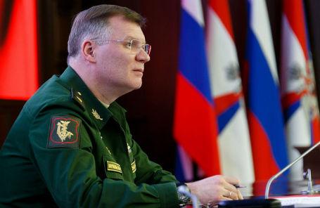Официальный представитель Минобороны РФ Игорь Конашенков.