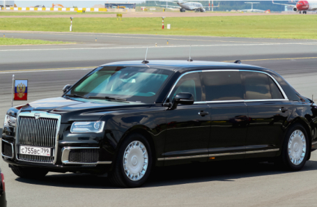 Aurus Senat limousine.
