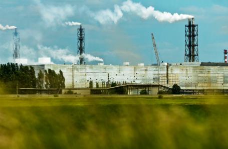Армянск. Крым. Завод «Титановые инвестиции» (ранее «Крымский титан»)
