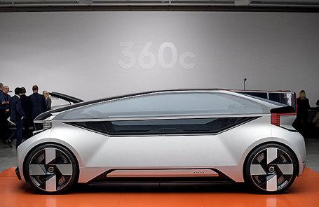 Презентация Volvo 360c в Гетеборге, Швеция.
