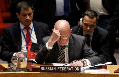 Постоянный представитель РФ при ООН Василий Небензя.