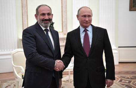 Пашинян рассказал оботсутствии сложностей вотношениях Российской Федерации иАрмении