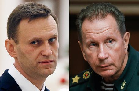 Алексей Навальный и Виктор Золотов.