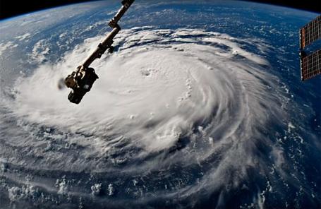 Ураган «Флоренс». Снимки спутников.