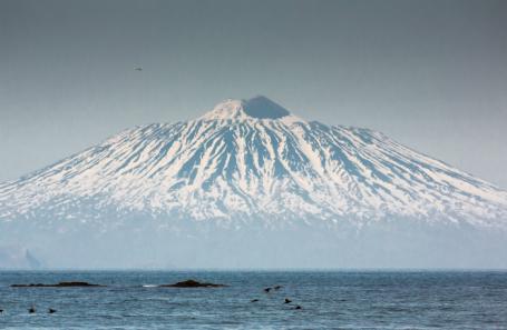 Виды острова Кунашир.