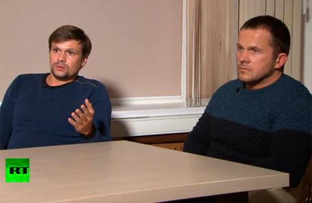 Руслан Баширов (слева) и Александр Петров.