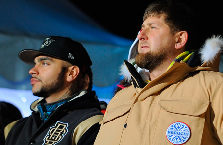 Тимати и Рамзан Кадыров.