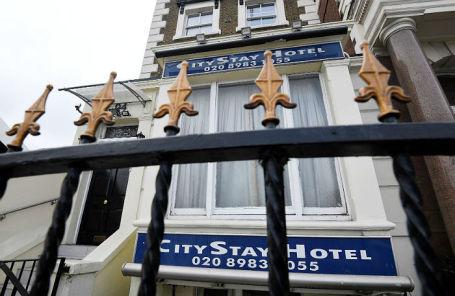 City Stay Hotel в Лондоне, где останавливались Александр Петров и Руслан Боширов.