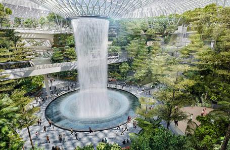 Проект аэропорта Changi.