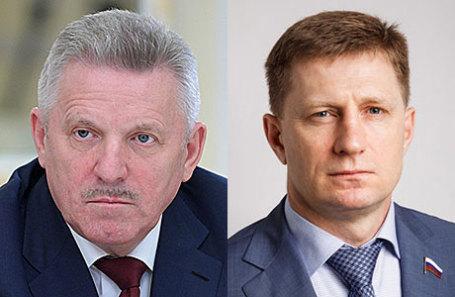 Вячеслав Шпорт и Сергей Фургал (слева направо).